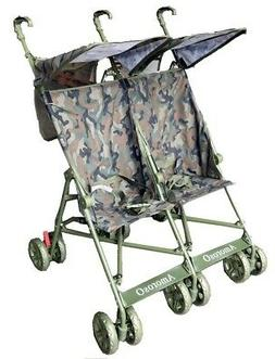 Amoroso 4201 Twin Umbrella Stroller