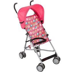 Dorel Juvenile Umbrella Stroller with Canopy - Elephant Trai