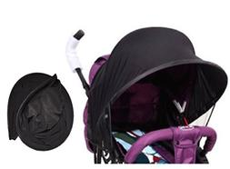 Easy Fit Universal Stroller Canopy Extender Large and Compac