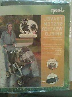 Jeep Travel System Weather Shield, Baby Rain Cover, Universa