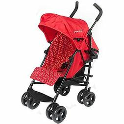 Kinderwagon - Skip Umbrella Stroller - Red