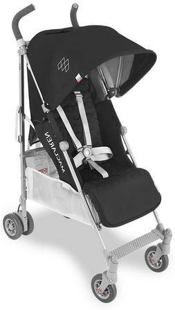 Maclaren Baby Quest Lightweight Umbrella Fold Stroller Black