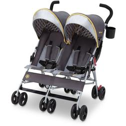 Double Baby Stroller Twin Umbrella Folding Pushchair Infant