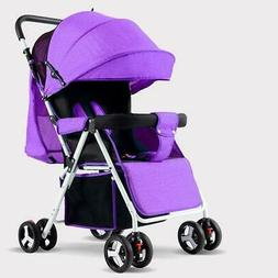 Baby strollers lightweight folding umbrella  can sit can