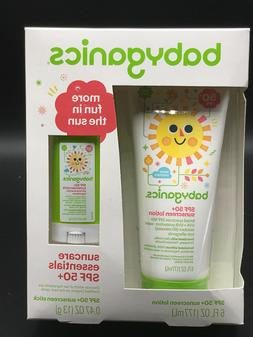 Babyganics Sunscreen Lotion/ Stick Combo- SPF 50 6.47 OZ