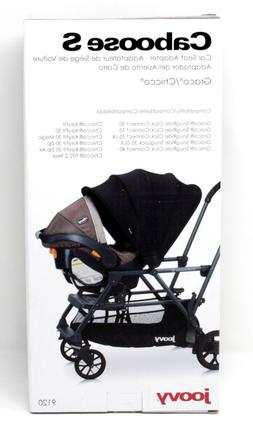 Joovy Caboose S Car Seat Adapter -Graco/Chicco