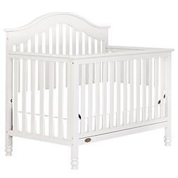 Dream On Me Charlotte 5-in-1 Convertible Crib - White