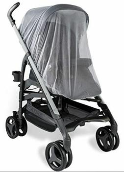 CHICCO Echo Twin Baby Stroller Mosquito Insect Net Mesh Whit