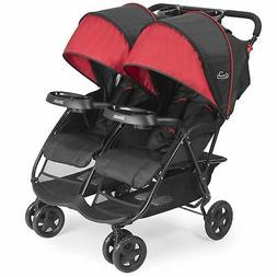 Kolcraft Cloud Plus Lightweight Double Stroller -5-Point Saf