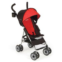Kolcraft Cloud Umbrella Baby Toddler Red Stroller Travel Sto