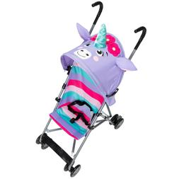 Cosco Comfort Height Character Umbrella Stroller, Unicorn