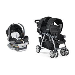 cortina together system double stroller