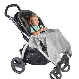 J.L. Childress Cuddle 'N Cover Stroller Blanket, Grey