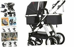 cynebaby infant toddler baby stroller carriage compact