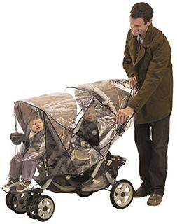 Nuby Deluxe Tandem Stroller Weather Shield