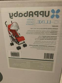 UPPAbaby Denny G-Luxe Umbrella Folding Baby Stroller Red 201