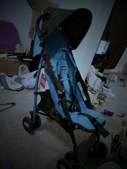 Chicco Echo Turquoise Standard Single Seat Stroller