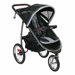 Jogging Stroller 3-Wheel Tire Running Graco Smooth Ride Swiv