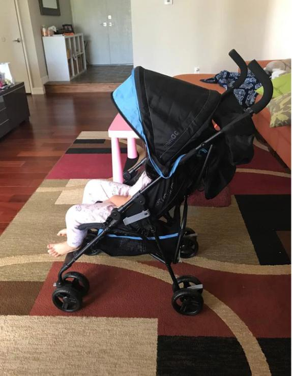 Summer Convenience Stroller Blue Free Shipping