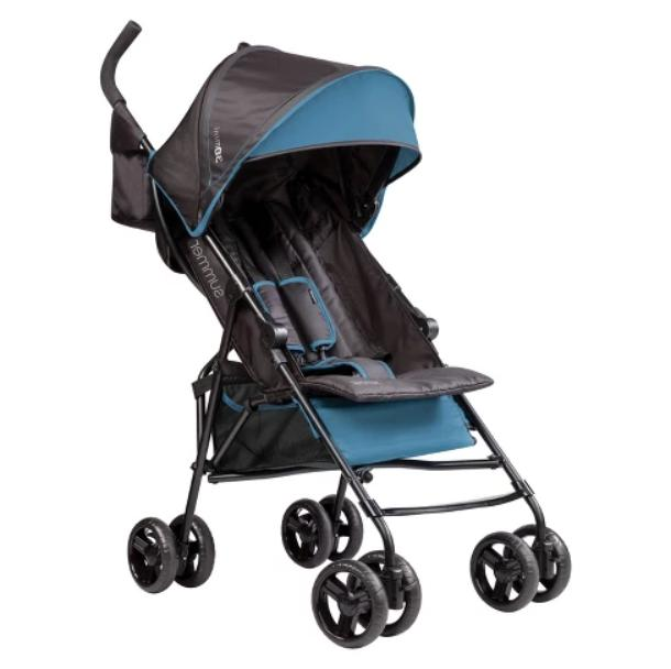 3d mini convenience stroller blue free shipping