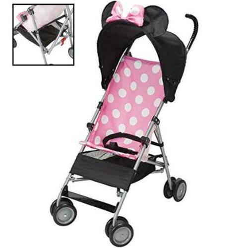 3d umbrella stroller pink minnie