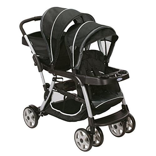 Graco Ready2grow Click Connect Double Stroller Gotham Discontinued by Manufacturer