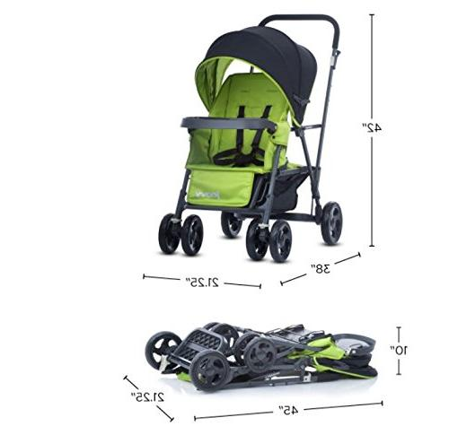 Joovy Graphite On Stroller, Black