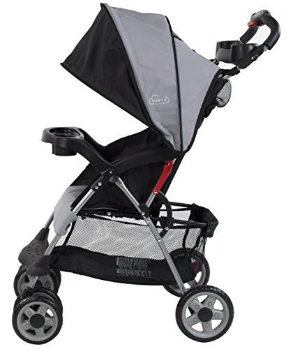 Kolcraft Cloud Stroller with System Seat, One Hand Storage Parent Child