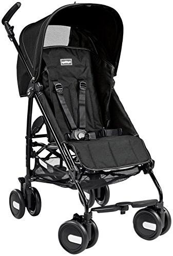 Peg Perego Pliko Mini Umbrella Strollers, Onyx