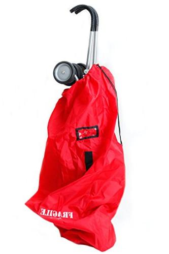UMBRELLA STROLLER TRAVEL Cover DURABLE Polyester with Resistant, Lightweight - for Airport Check and Storage most Angel