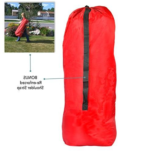 UMBRELLA STROLLER Cover - DURABLE with SHOULDER STRAP, for Airport Gate Check and Angel Baby