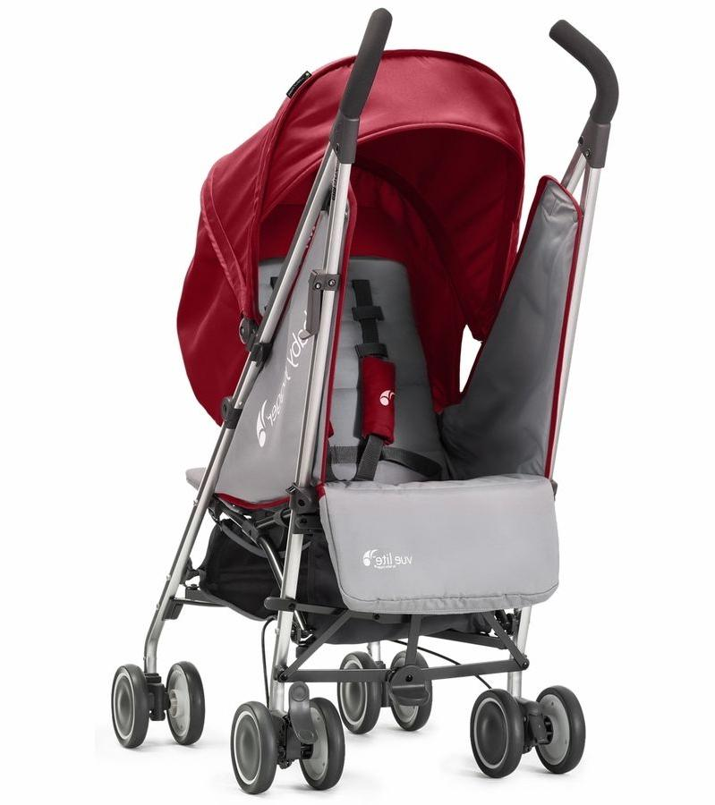 Reclining Umbrella Jogger Folding Pram