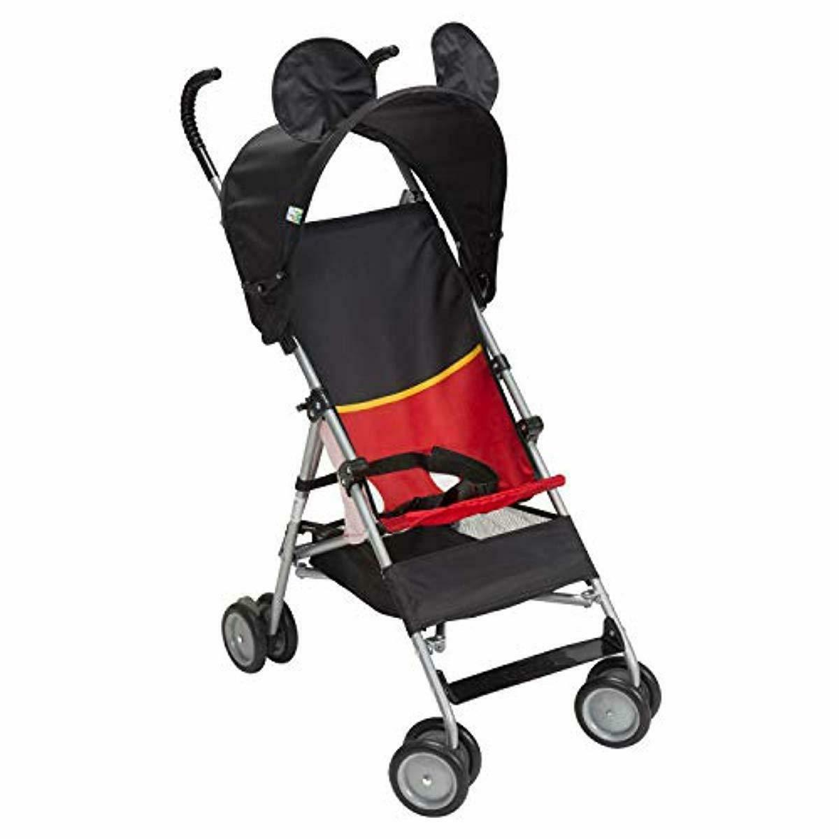 Disney Mickey Mouse Umbrella Stroller with Foldable Lightweight