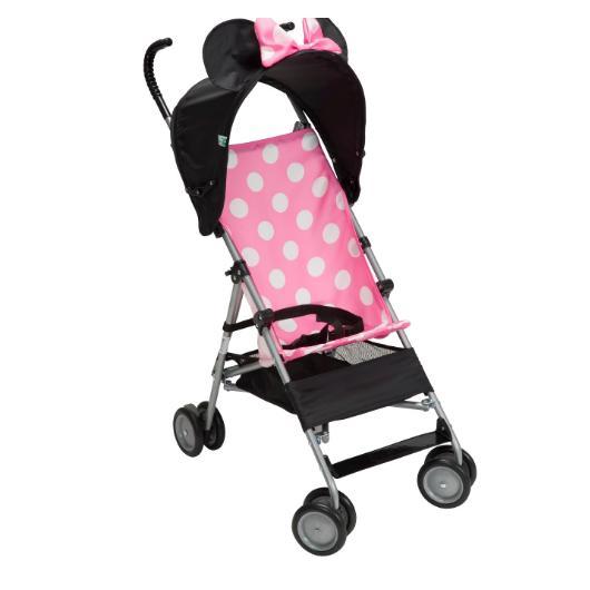 baby minnie mouse 3d umbrella stroller lightweight