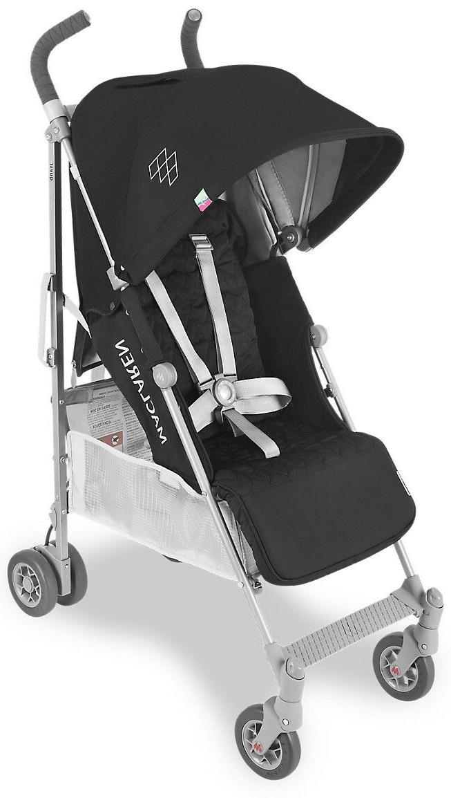 baby quest lightweight umbrella fold stroller black