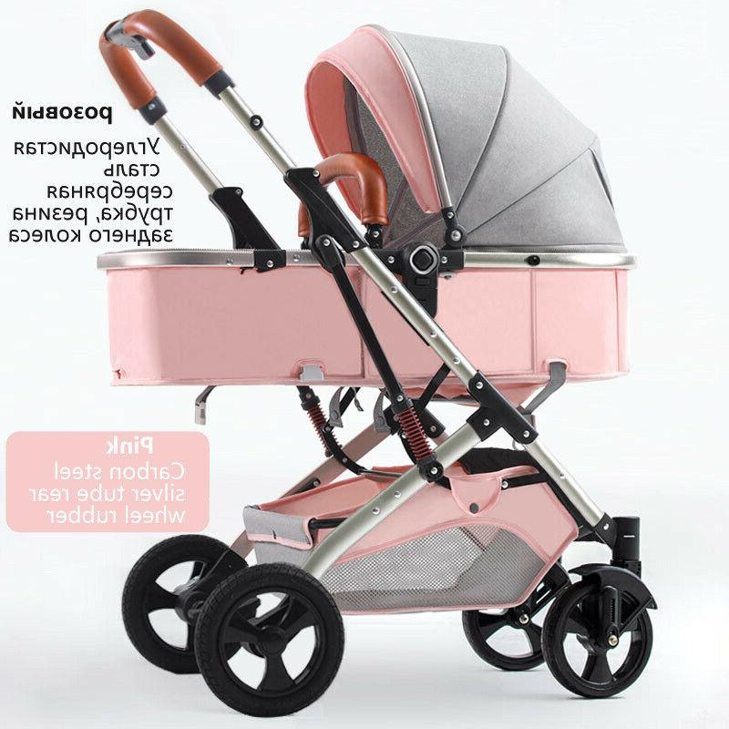 Baby 2 In Two-way Pushing High Carts