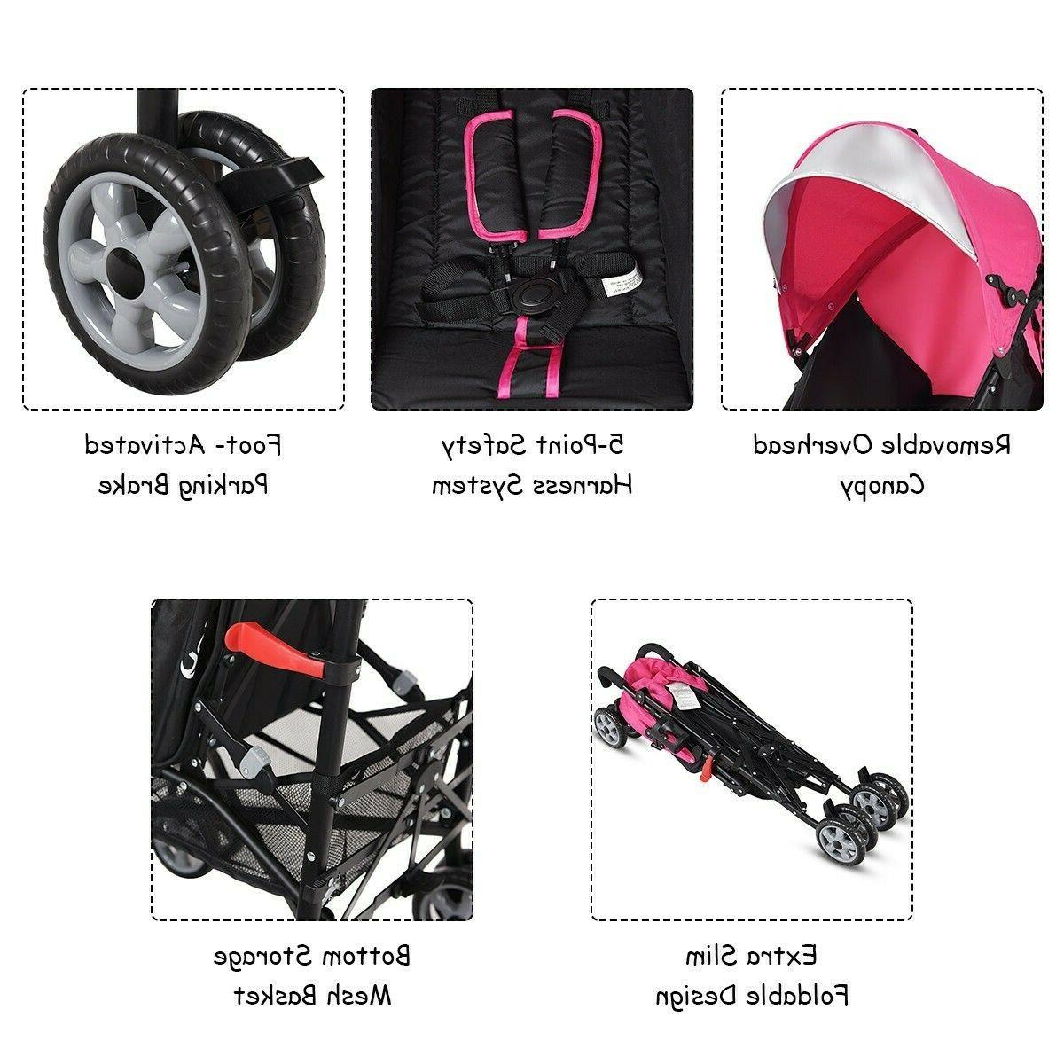 Baby Travel Infant Foldable Lightweight