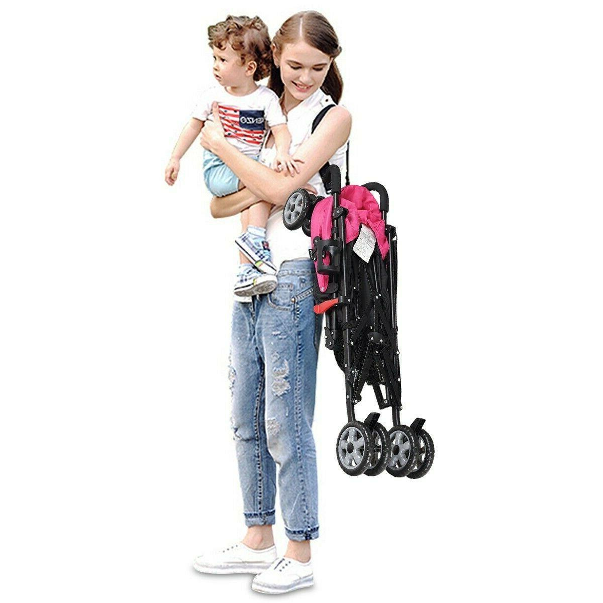 Baby Travel Infant Pushchair Foldable Lightweight