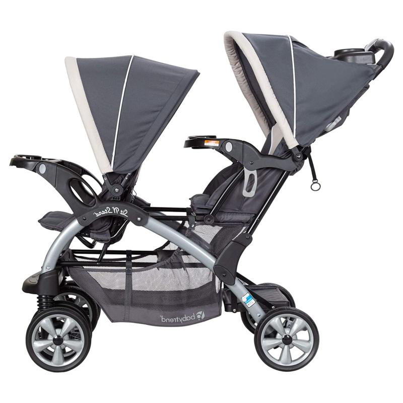 Baby Trend Stand Travel Double Umbrella And Todd