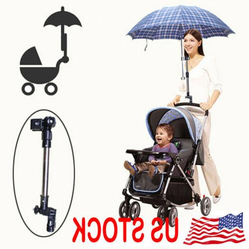 bicycle wheelchair stroller pram stretch umbrella support