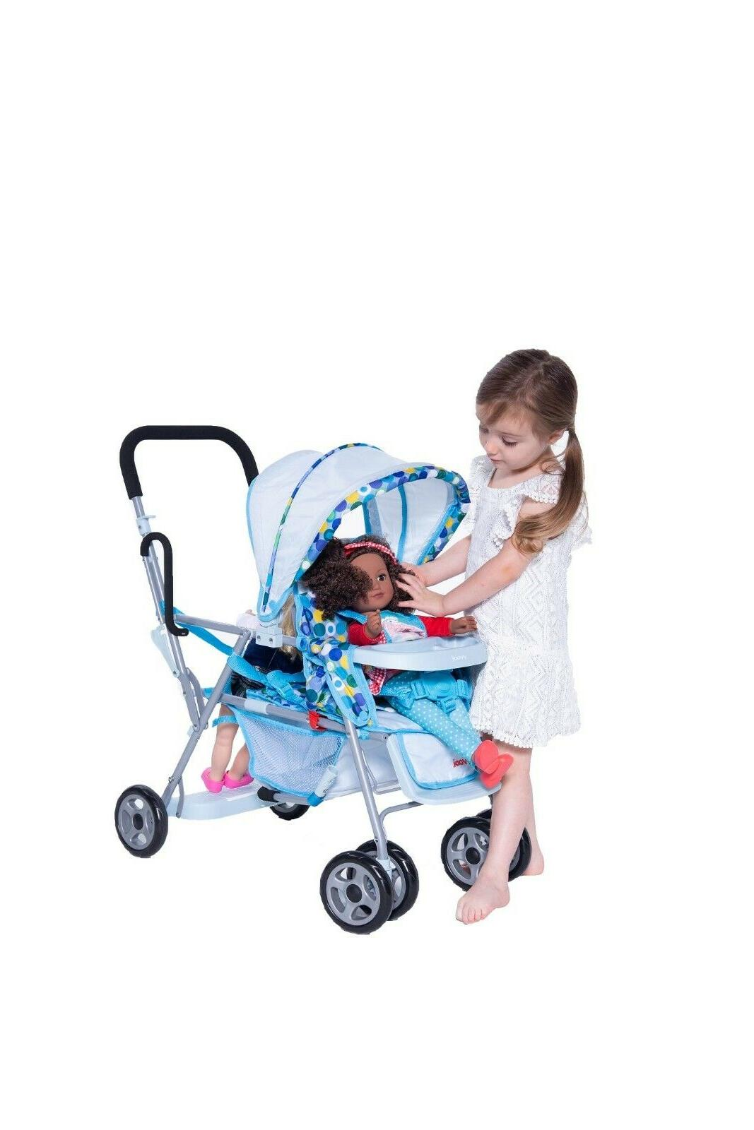 Joovy Stroller Toy Blue For Girls Toddlers