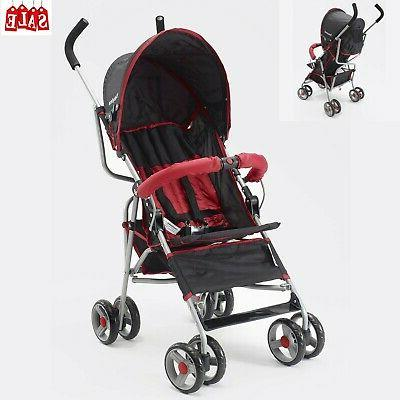 compact lightweight travel umbrella baby stroller foldable