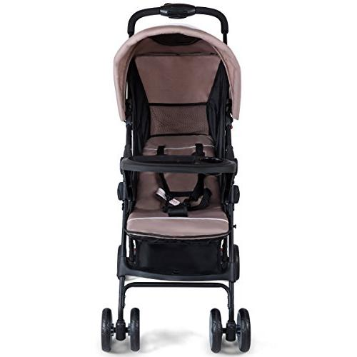 Costzon Lightweight Baby Foldable with 5-Point Safety Position Seat