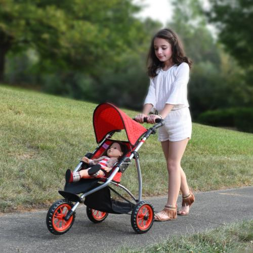 The New Doll Collection Doll Jogging Stroller
