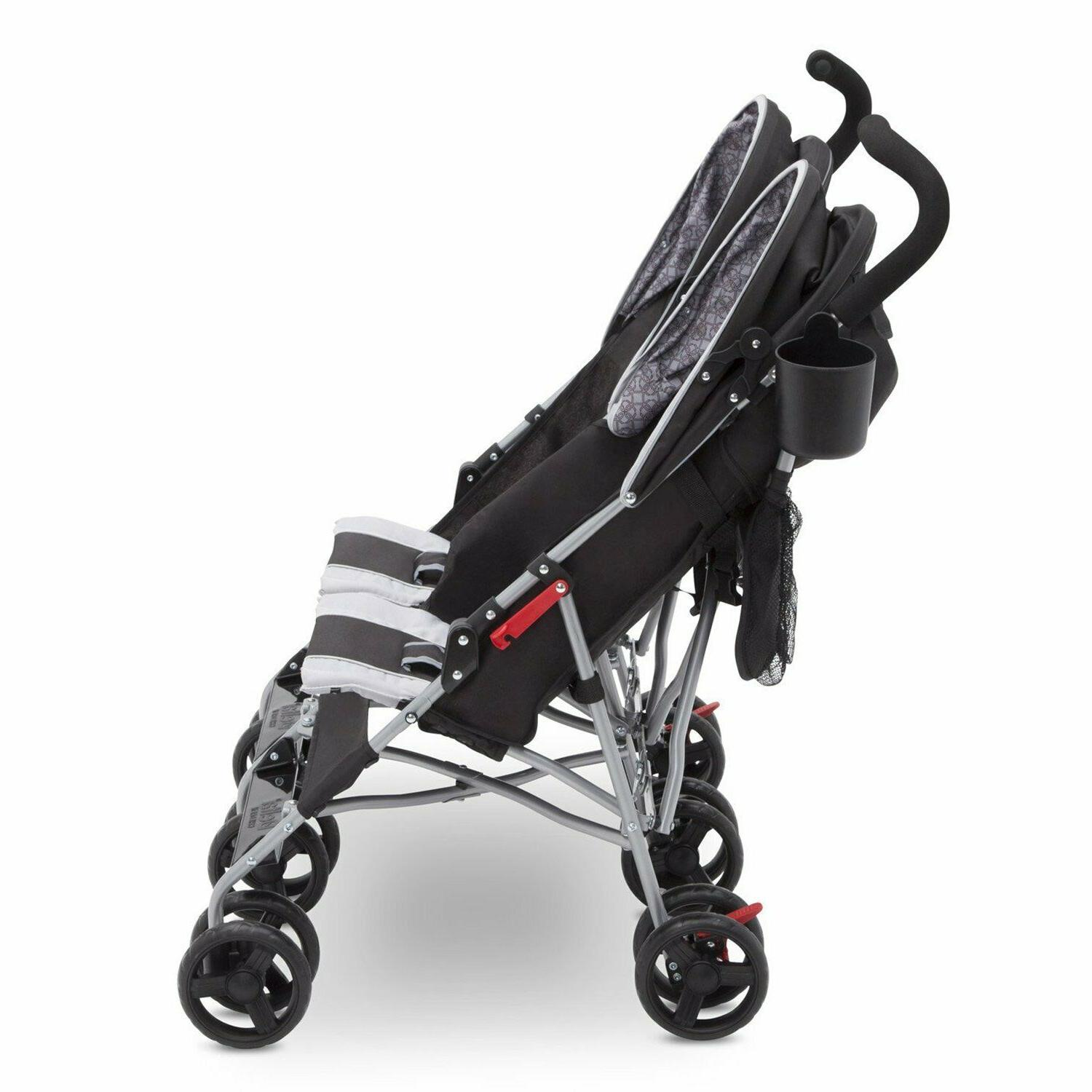 Double Baby Umbrella Pushchair Safety Travel