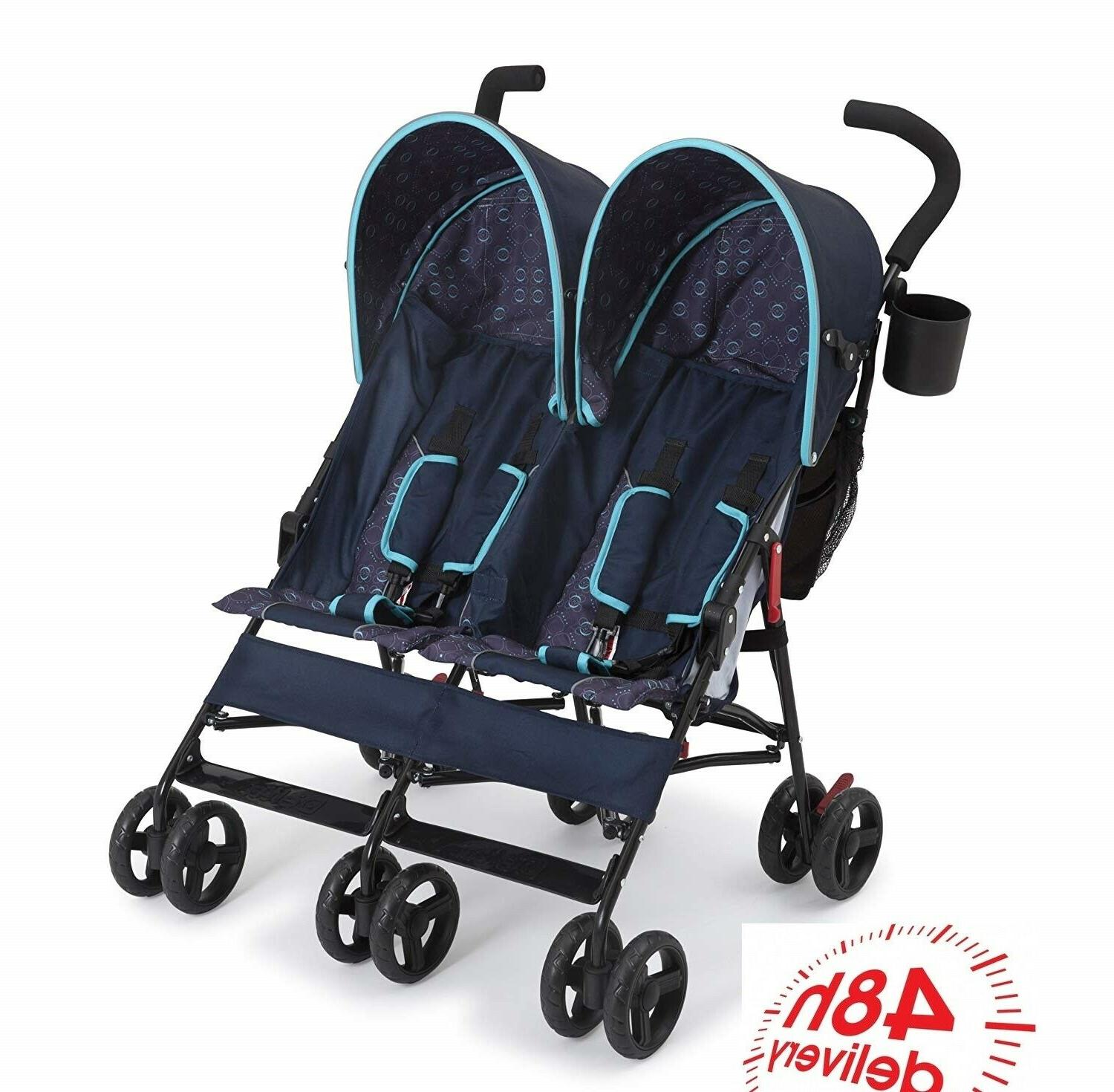 Double Stroller By Lightweight Frame