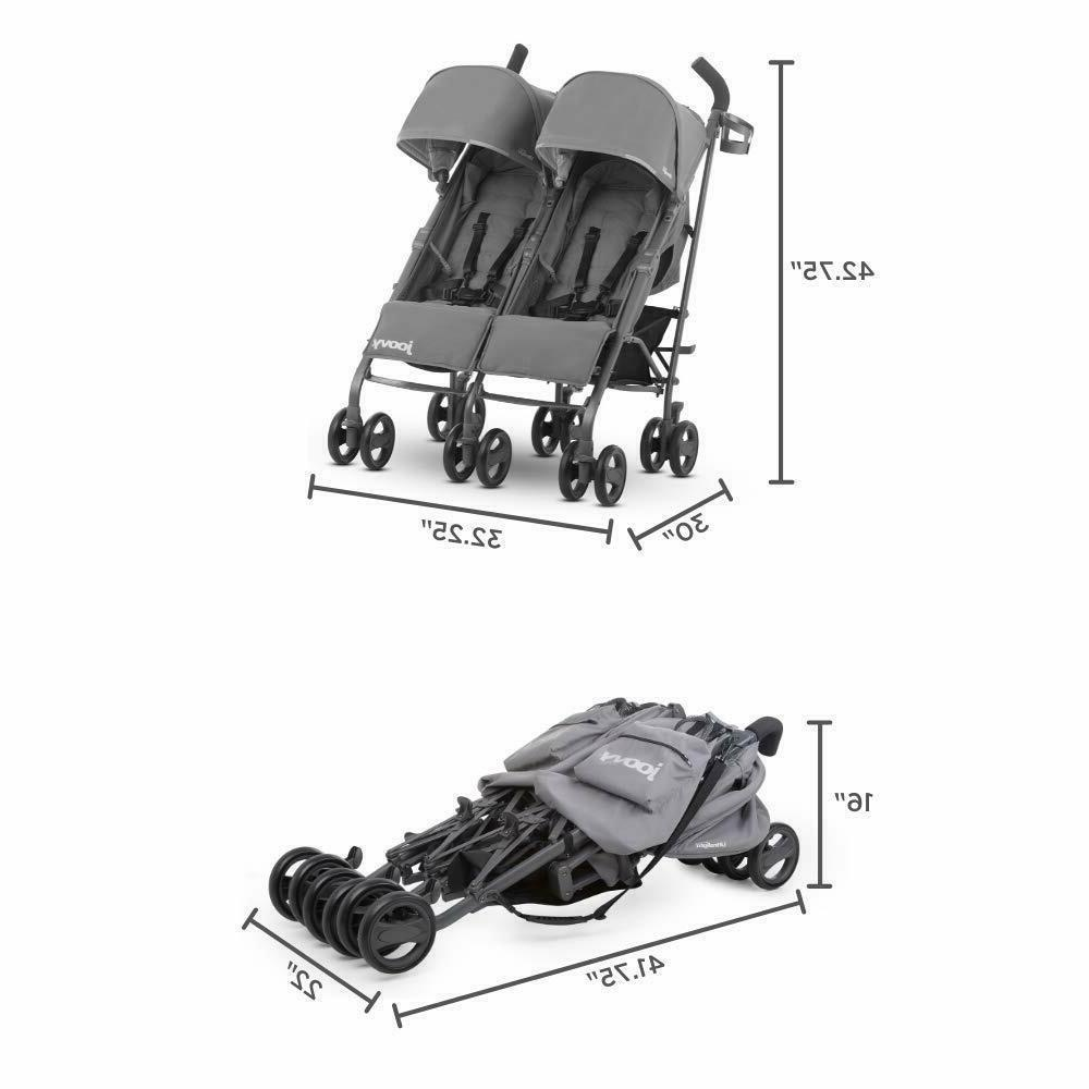 Double Stroller for Twins Second Tandem