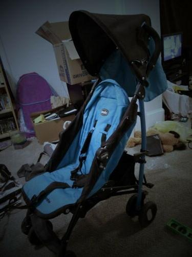 Chicco Echo Turquoise Single Stroller