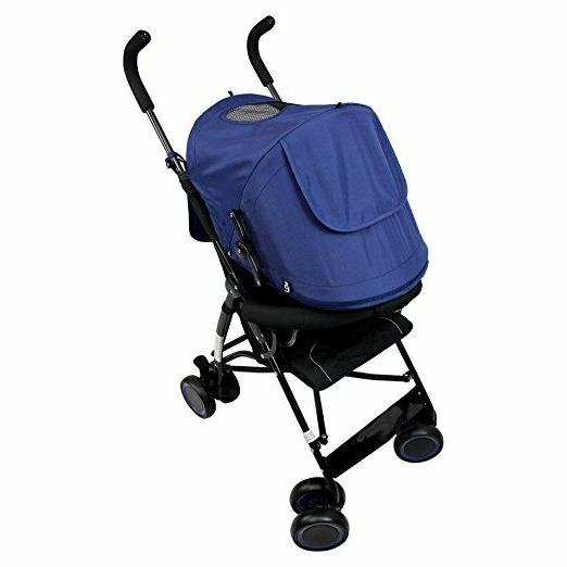 Evezo Compact Lightweight Stroller with 5 Point
