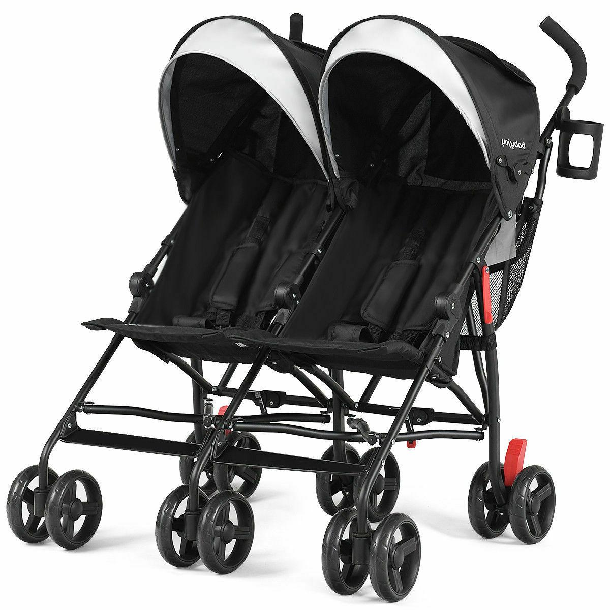 Foldable Twin Stroller Umbrella Stroller